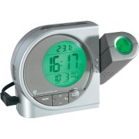 Projekční DCF hodiny s multibarevným LCD