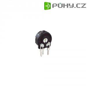 Miniaturní trimr Piher, vertikální, PT 10 LH 250K, 250 kΩ, 0,15 W, ± 20 %