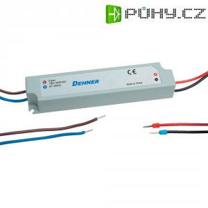 LED driver Dehner Elektronik LED-350MA9W-IP67, 350 mA, 9 W