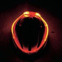 Bezpečnostní světelná hadice, dlouhodobé svícení/blikání, červená