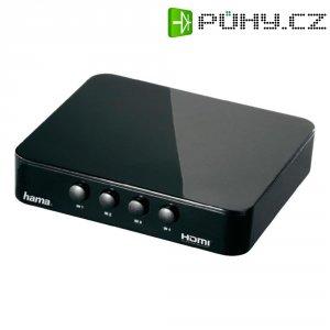 HDMI switch, Hama G410, 4portový, 1920 x 1080 pix, černá