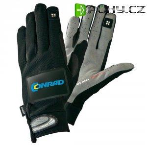 Cyklistické rukavice s integrovaným blinkrem, letní provedení, velikost S