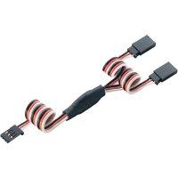 Y kabel Modelcraft, konektor Futaba, 30 cm, 0,08 mm²