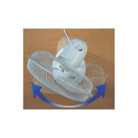 Stolní ventilátor Tristar VE-5930, Ø 30 cm, 40 W, bílá