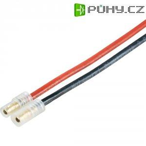Napájecí kabel Modelcraft, 3,5 mm konektor zástrčka/zástrčka, 300 mm, 1,5 mm²
