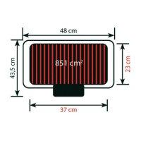 Stolní elektrický gril Severin PG 1511, 2300 W, černá