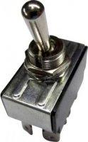 Páčkový spínač SCI R13-28F-01, 250 V/AC, 10 A, 2x vyp/zap, 1 ks
