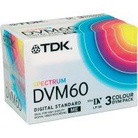 TDK DV-CASSETTE 60 MIN 3 ks