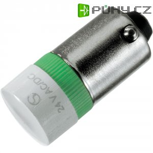 LED multičipové Ba 9s 12/16 - modrá