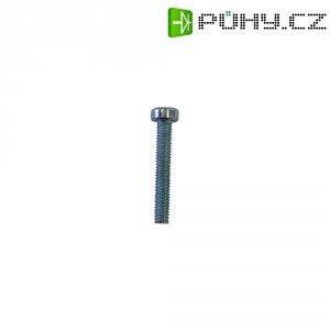Cylindrické šrouby TOOLCRAFT, DIN 7984, M2,5 x 12, 20 ks