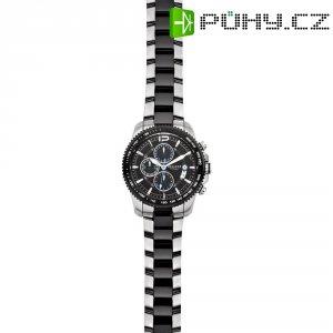 Ručičkové náramkové hodinky Regent F-657 Quartz, pánské, pásek z nerezové oceli