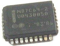 87C64-2, EPROM 64K, PLCC32