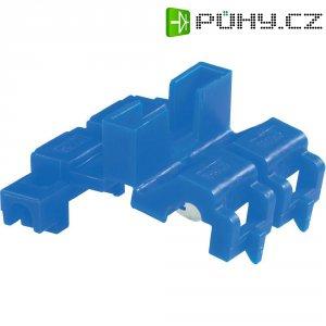 Zářezová svorka na pojistku 3M, 80-0140-0087-3, min. 0,75 mm², 2pólová, modrá