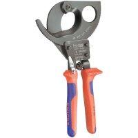 Štípací kleště na kabely s ráčnou Knipex 95 31 280, 280 mm