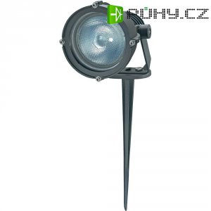 Venkovní zapichovací svítidlo Sygonix Messina, E27, 100 W, stříbrná/šedá
