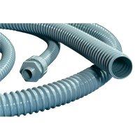 Ochranná hadice na kabely HellermannTyton PSR12 166-40001, 10 mm, šedá, metrové zboží
