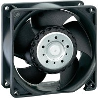 Axiální ventilátor EBM Papst, AC 8300 H, 230 V/AC, 48 dBA, 80 x 80 x 32 mm
