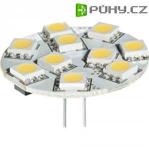 LED žárovka Diodor, GZ4, 2,5 W, 30 V, stmívatelná, teplá bílá