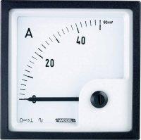Analogové panelové měřidlo Weigel PQ96K 50A/60mV 50 A/DC (60mA)
