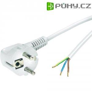 Síťový kabel LappKabel, zástrčka/otevřený konec, 0,75 mm², 1,5 m, bílá