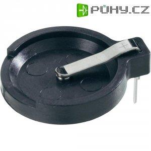 Držák na knoflíkovou baterii CR1616/CR1620/CR1632 Keystone 502, horizontální, 11 mm