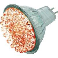 LED žárovka BaseTech 38 GU5.3 1,7 W červená