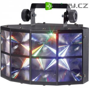 DMX LED efektový reflektor Mc Crypt DL-1112, 12 W, multicolour