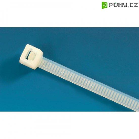 Reverzní stahovací pásky T-serie H-Tyton T150R-HS-BK-C1, 365 x 7,6 mm, 100 ks, černá - Kliknutím na obrázek zavřete