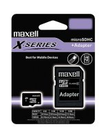Paměťová karta micro SDHC 4GB MAXELL CL4 XS