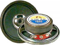 Repro 50mm YD50-1, papír, 8ohm/0,5W