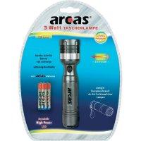 Kapesní LED svítilna Arcas Zoom, 30700015, 3 W