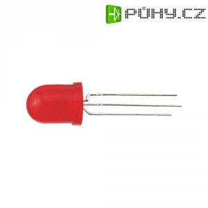 LED dioda kulatá s vývody TLHG 0400, L-819 GGD, 20 mA, 10 mm, 2,2 V, 50 °, 40 mcd, zelená