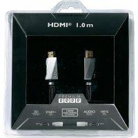Sound and Image Premium HS HDMI kabel s Ethernetem, 1m