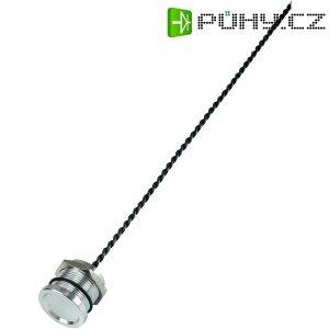 Piezo tlačítko, 24 V DC/AC, 0,2 A, IP 68, PS193P10Y01R24T, ploché