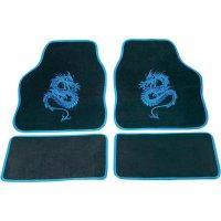 Sada koberečků Mystery - modrá