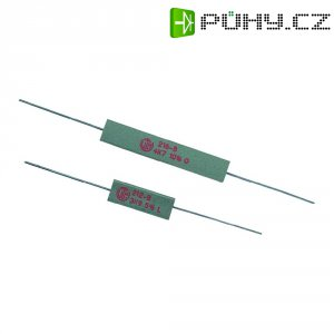 Rezistor VitrOhm KH208-810B5R6, 5,6 Ω, ± 10 %, axiální vývody, 5 W, 10 %