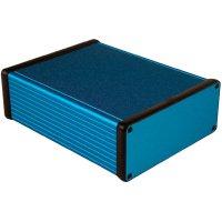 Univerzální pouzdro hliníkové Hammond Electronics, (d x š x v) 160 x 125 x 51,5 mm, modrá