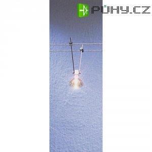 Lankové bodové svítidlo na tyčce, GX5.3, 12 V, 35 W, bílá