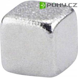 Permanentní magnet krychlový N38 1.24 T Max. pracovní teplota: 80 °C