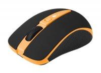 Myš PC optická bezdrátová CANYON CNS-CMSW6 oranžová