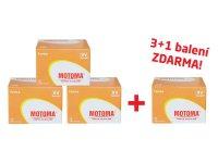 Balíček 3+1 (48 ks) Baterie 6F22 (9V) alkalická MOTOMA Ultra Alkaline (4 krabice 04270219)