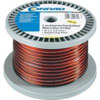 Reproduktorový kabel, 93003C12, 2x 1,65 mm², 30 m