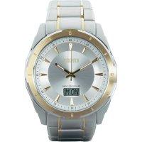 Ručičkové náramkové DCF hodinky Eurochron EFAU 9201, pásek z nerezové oceli
