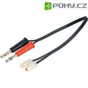 Napájecí kabel s bánanky 3,5 mm zástrčka/zástrčka Modelcraft, 250 mm, 1,5 mm²