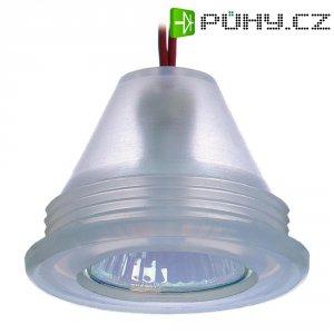 Vestavné silikonové svítidlo interBär Maxi, 35 W, průhledné