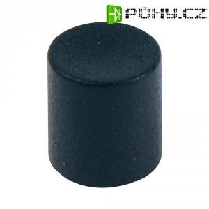 Krytka tlačítka Cliff CP3400, 4/6 mm, černá