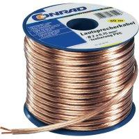 Balený reproduktorový kabel