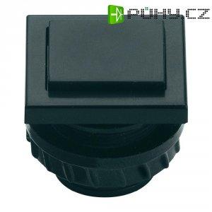 Zvonkové tlačítko Grothe Protact 61045, max. 24 V/1,5 A, černý plast