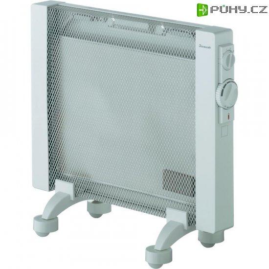 Přenosné topení Duracraft, 350/650/1000 W, IP24, světle šedá - Kliknutím na obrázek zavřete