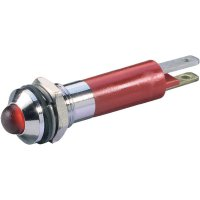 LED signálka Signal Construct SWQU08624, IP67, vnější reflektor, 24 V/DC, bílá